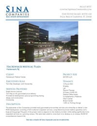 Hackensack Medical Plaza Printable Case Study
