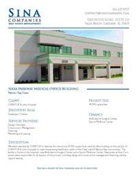 NASA Parkway Medical Office Building Printable Case Study, Nassau Bay, Texas