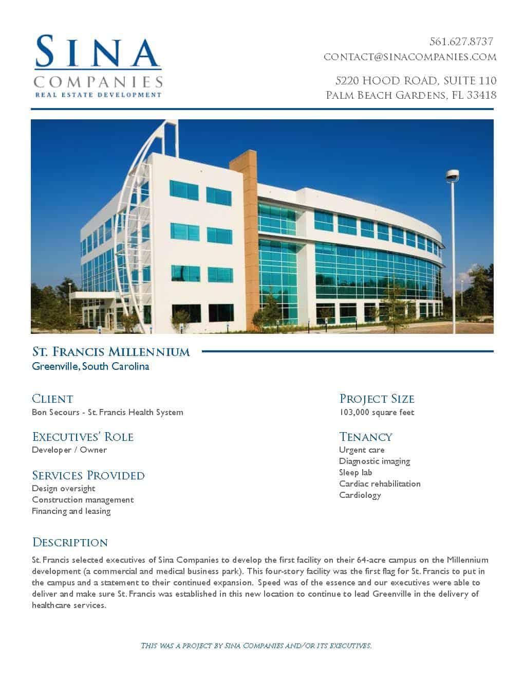 St. Francis Millenium Building Project