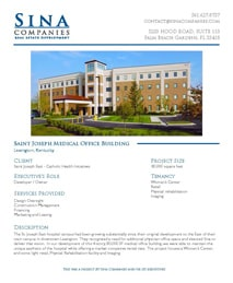 Saint Joseph Medical Office Building Printable Case Study